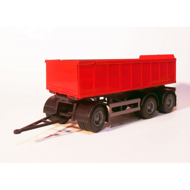 3 Axle Small Red Roll Off Container