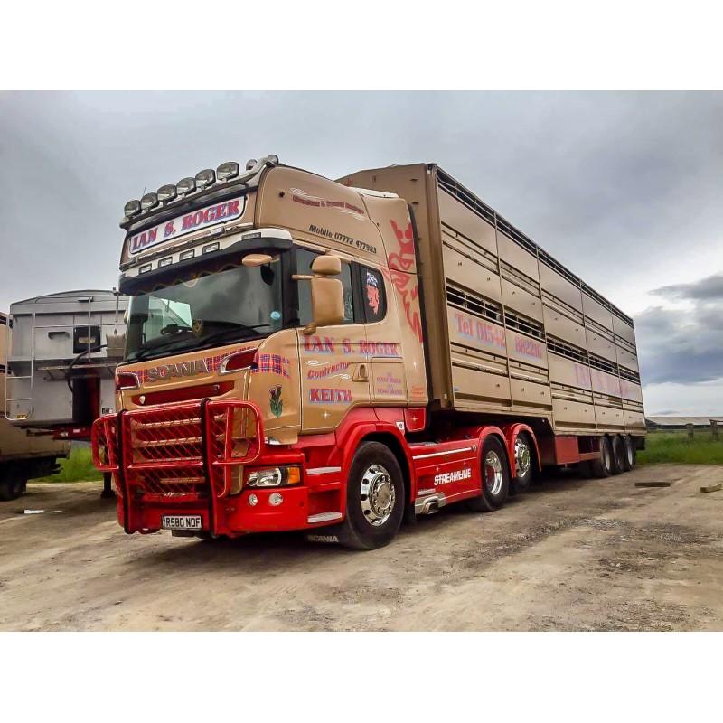 Ian S Roger Scania R-Series Livestock