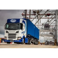 Maritime New Generation Scania S-Series 6x2 Curtainside Trailer