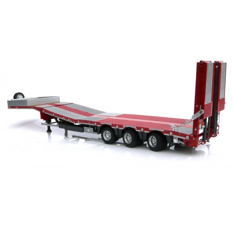 Nooteboom Semi Lowloader Metal Grid Red 1:32 Scale