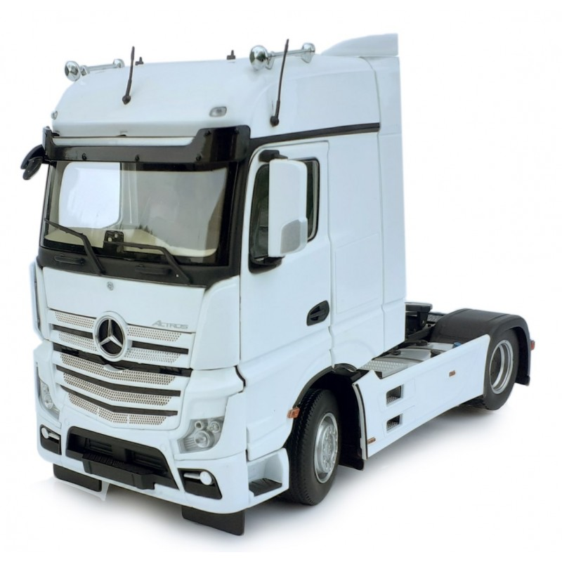 Mercedes-Benz Actros Bigspace 4X2 White 1:32 Scale