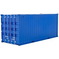Container Themed Pen Pot 1:35 Scale (Blue)