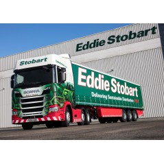 Eddie Stobart Scania R-Series Highline with Curtainside Trailer